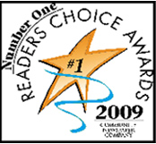 2009  Readers Choice Award Winner
