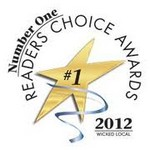 2012  Readers Choice Award Winner